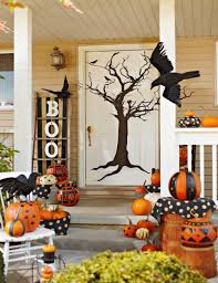 ... Design Inspiration With Front Porch Halloween Decoration. here ...