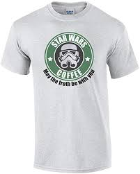 Star Wars Coffee - May The Froth Be with You T-Shirt ... - Amazon.com