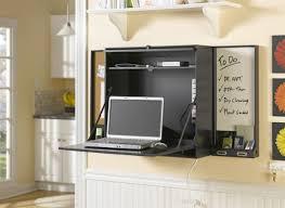 home office ideas diy black wall mounted computer desk desk design space saving area