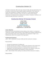 resume example  cv template australia best format construction