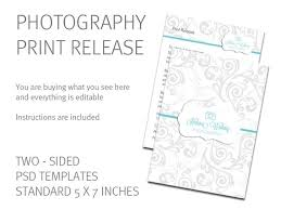 Print Release Forms Extraordinary Print Release Template Photography Print Release Card Etsy