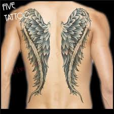 Large Angel Wings Tattoo Sticker For Arm Shoulder Waterproof Temporary Tattoos Sexy Tatoos Women