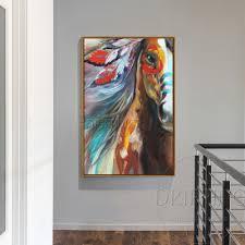 colorful horse wall art image permalink