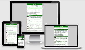 Blogger Mobile Template Ga Sat Green Mobile Blogger Templates Blogger Templates 2016