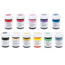 Wilton Gel Icing Color Chart Wilton 12 Icing Color Set Includes 12 Large 1 Ounce Containers Of Icing Color Gel You Get The 12 Most Popular Colors In One Set Of Large Size
