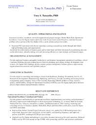 Beautiful Lean Six Sigma Green Belt Resume Resume Ideas