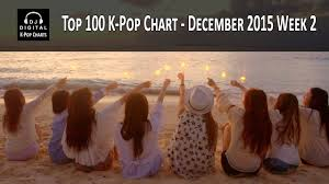 Top 100 K Pop Songs Chart December 2015 Week 2
