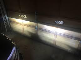 Light Bulb 5000k Vs 6500k 4300k Vs 6500k Hid Pics Inside 2014 Jeep Cherokee Forums