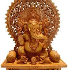 Small Picture Buy Collectible India Ganesh Statue Showpiece Figurine Wooden