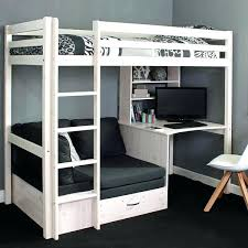 loft beds with futon and desk bunk images bed nice high sleeper small home decor inspiration