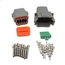 8 pin connector 1 sets kit deutsch dt 8 pin waterproof electrical wire connector plug 22 16awg