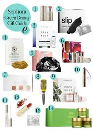 epicurean emily s sephora green beauty gift guide