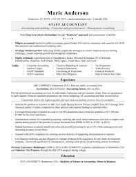 Accountant Resume Sample Pozoristedm Com