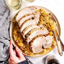 pork roast and sauer recipe