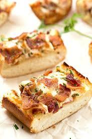 Cheesy Bacon Ranch Garlic Bread Gal On A Mission
