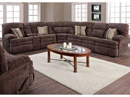 HomeStretch 103 Chocolate Series Double Reclining Sofa with