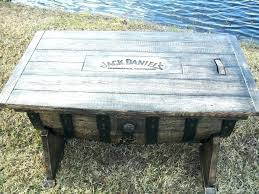 jack daniels barrel furniture manlier than the manliest whiskey barrel coffee table style by woodworking community