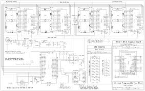 ece 4760 time system hardware design the electrical schematic
