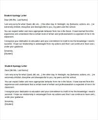 Apologize Sample Letters Apology Letter Template To Friend For Misunderstanding