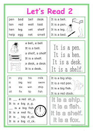 You will find the fun fonix series but much more than that on this site. Let S Read 2 Worksheet Free Esl Printable Worksheets Made By Teachers Phonics Reading Activities Reading Fluency Reading For Beginners