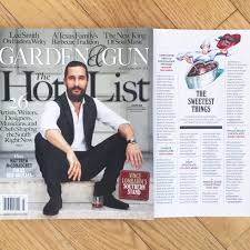 garden and gun magazine. Garden And Gun Magazine Feature /