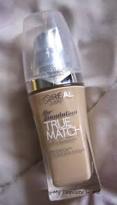 l oreal true match super blendable foundation w3 golden beige review swatches