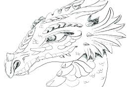 Real Dragon Coloring Pages Fire Breathing Page Printable For Kids