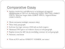 "learning goals compare and contrast rome and han eq ""how  comparative essay analyze similarities and differences in techniques of imperial administration in two of the following"