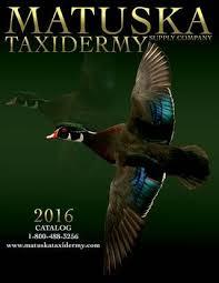 Matuska Taxidermy 2016 Catalog By F8 Creative Issuu