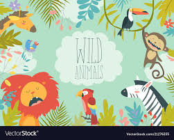 jungle animal background. Plain Background Throughout Jungle Animal Background R