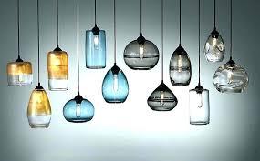 hand blown glass pendant lights hand blown pendant lights glass blown pendant turquoise speckled hand hand