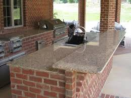 Italian Outdoor Kitchen Rustic Italian Style Kitchen Using Brick Ceiling Detail And Green
