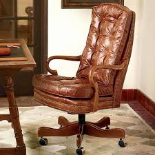 brown leather office chairs. Brown Leather Office Chair Unique Desk Chairs Wood Trim Wooden Swivel N