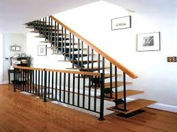 modern stair handrail image of nice railing kits staircase designs wooden in kerala