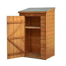 mini wooden small outside storage unit with shiplap cladding outside storage units for home outside
