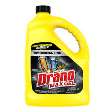 drano commercial line 128 oz drain cleaner