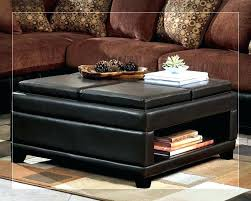 coffee table with 4 ottomans large size of ottoman stools round storage