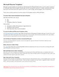 Resume Template Actor Example Sample Acting In Word Microsoft