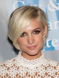 Hairstyle For Oval Shaped Faces 20 best hairstyles for long faces ashlee simpson short 6058 by stevesalt.us