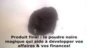 """Résultat de recherche d'images pour """"La Poudre noire magique"""""""