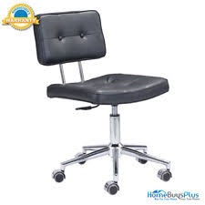 unico office chair. ZUO 100236 Series Office Chair Black Unico
