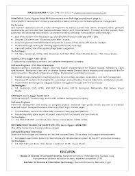 Net Developer Resume Sample Asp Resume Sample Resume Format Download