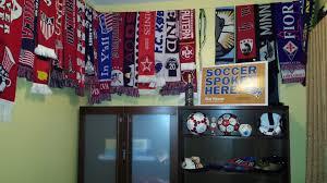 Soccer Bedroom The Soccer Shrine Soccerfamily Style