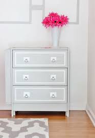 IKEA Hack Dresser Project - really amazing redesign of the super cheap $34  Rast dresser.