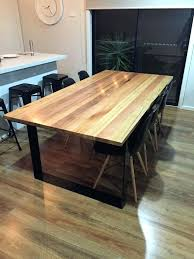 wood dining table with metal legs excellent pallet wood dining table with steel legs pallets for