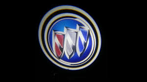 buick logo. buick logo puddle ghost lights