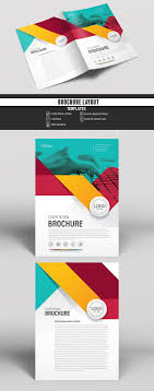 Buy Brochure Templates Colorful Business Brochure Cover Layout Buy This Stock