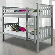 Grey - Bed Frames / Beds, Frames & Bases: Home ... - Amazon.co.uk