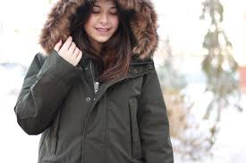 a more traditional style we found this adorable olive green parka from gap for 40 off it was soft and warm perfect for those frigid winter days