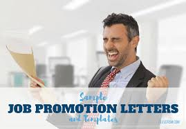 Employee Promotion Announcement Template Best Sample Job Promotion Letters And Templates